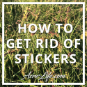 How To Get Rid Of Stickers - Acre Life
