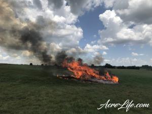 Burning Cedar Branches - Acre Life
