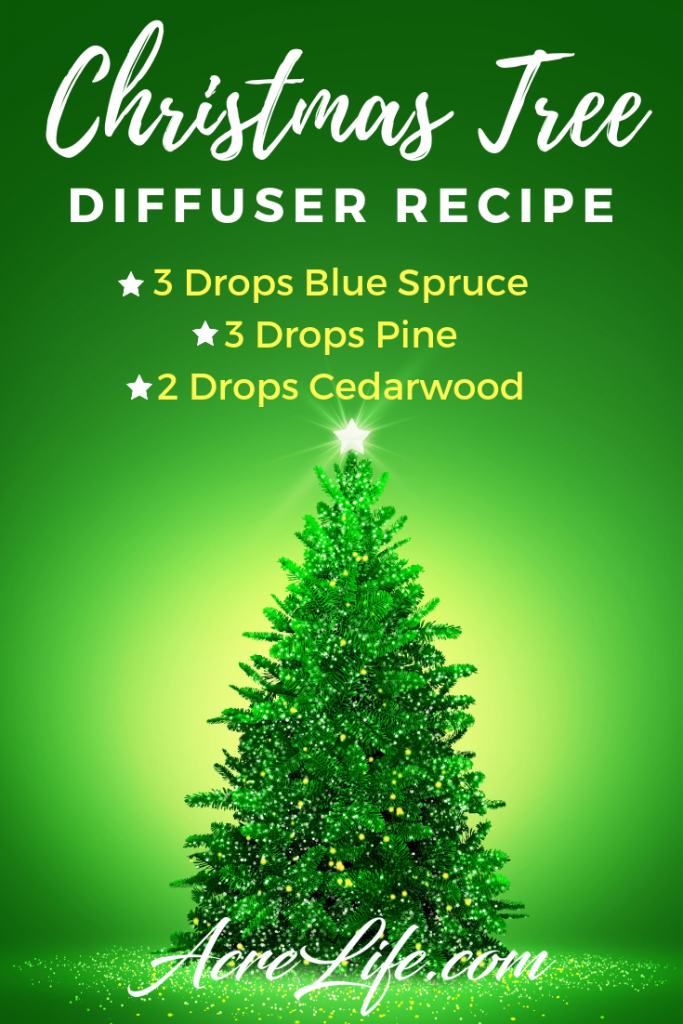 Christmas Tree Diffuser Recipe