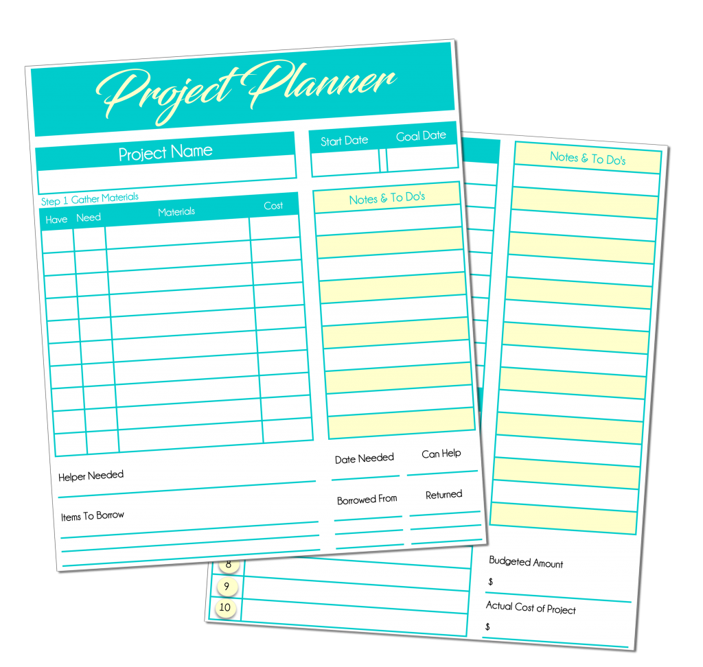 Project Planner from Acre Life