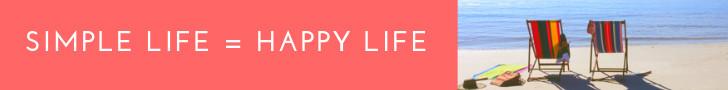 Simple Life = Happy Life