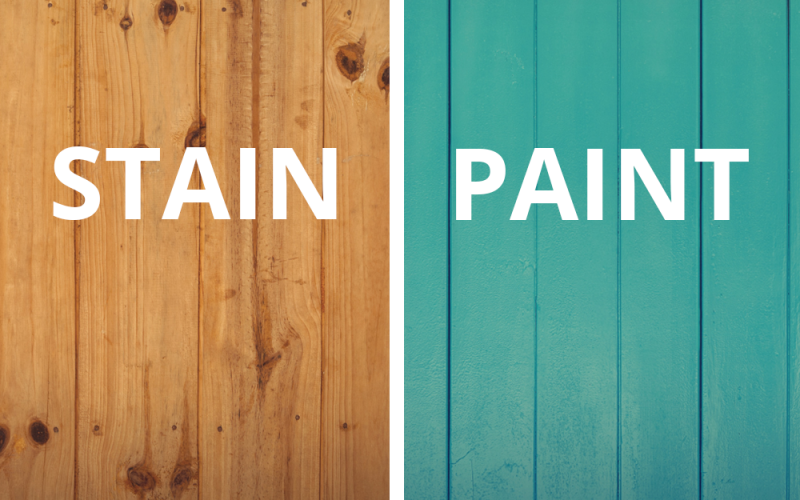 Which Finish Is Best For A New Wood Fence?