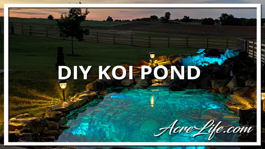 DIY Koi Pond