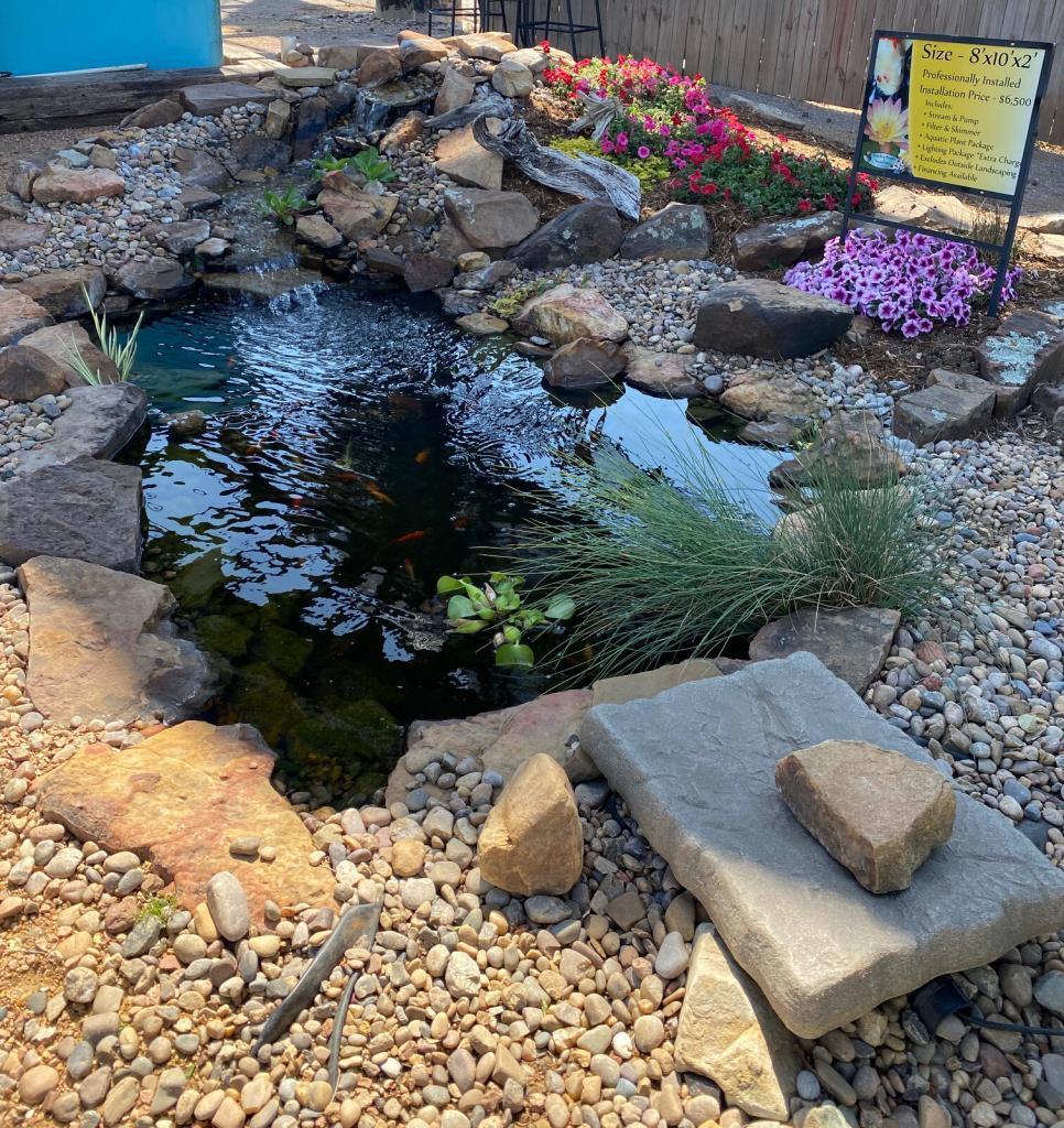 Installed Pond