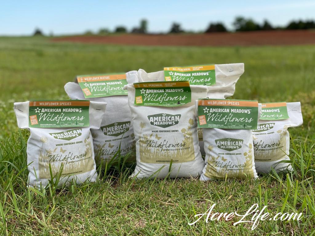 American Meadows Wildflower Seeds - Acre Life