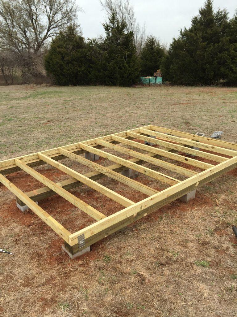 Chicken Coop Floor Frame - Acre Life