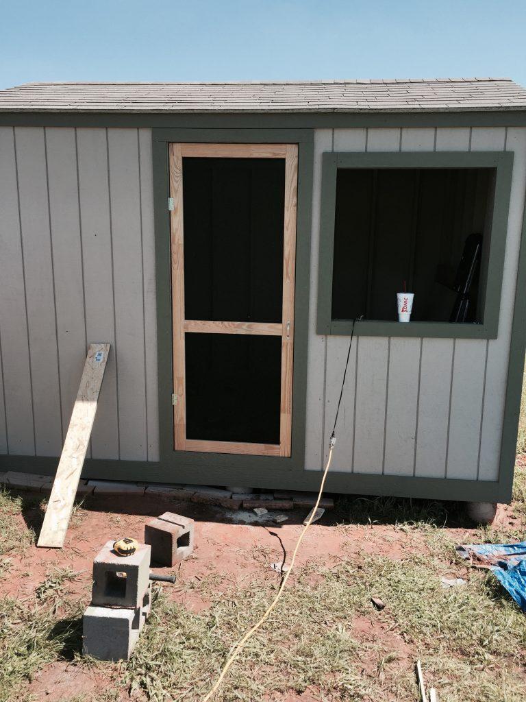 Chicken Coop Front Door - Acre Life