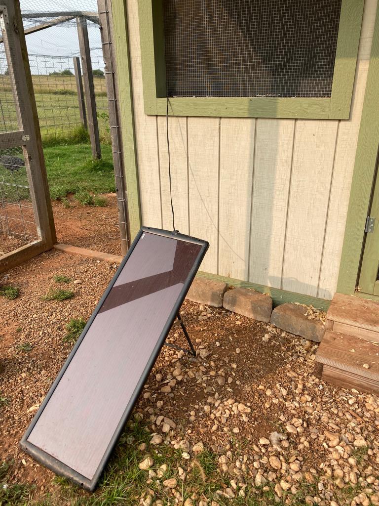 Solar Panel For Chicken Coop Door - Acre Life