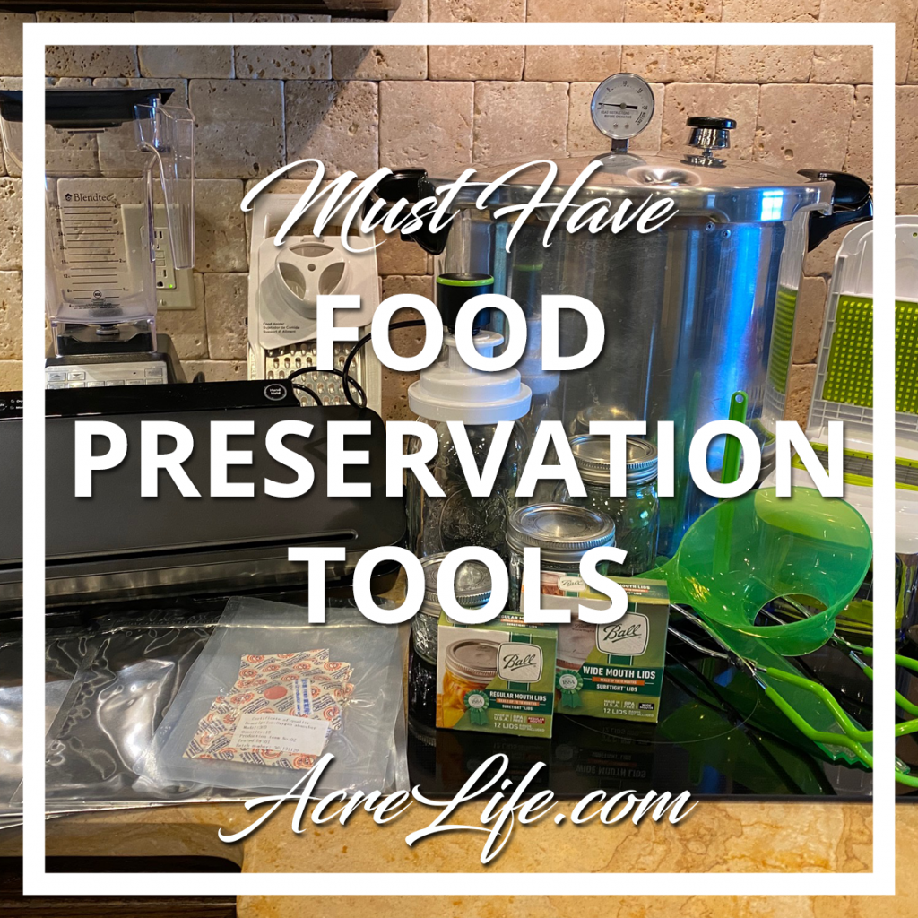 Food Preservation Tools and Equipment - Acre Life