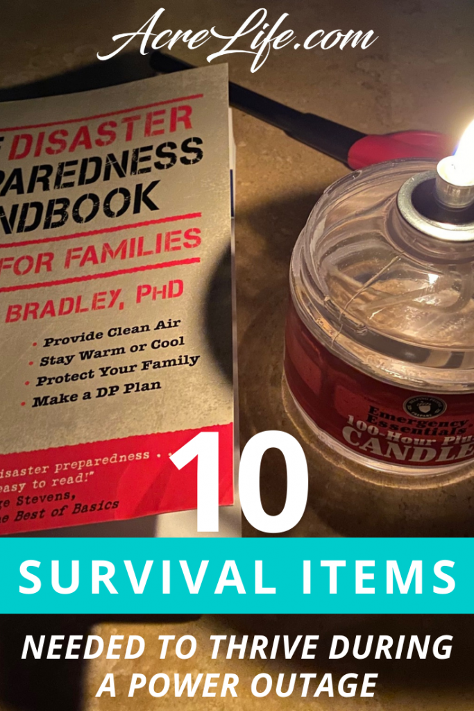 10 Survival Items Need To Thrive During a Power Outage - Acre Life