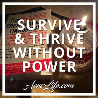 10 Survival Items To Thrive In A Power Outage