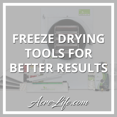 Freeze Drying Tools For Better Results