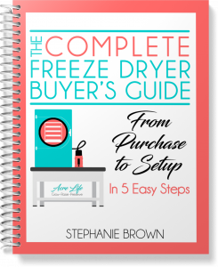 The Complete Freeze Dryer Buyer's Guide